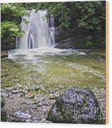 Janet's Foss Yorkshire Dales Uk Wood Print
