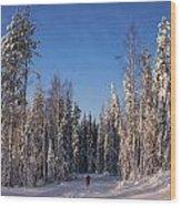 January Nr 3 Wood Print
