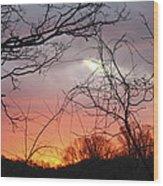 January Sunrise 5 Wood Print