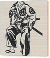 Japan: Samurai Wood Print