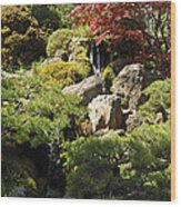 Japanese Tea Gardens San Francisco Wood Print