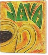 Java Wood Print by Lee Halbrook