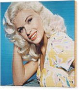 Jayne Mansfield, 1950s Wood Print by Everett