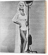 Jayne Mansfield, Ca. 1962 Wood Print