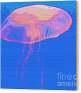 Jazzy Jelly Wood Print