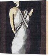 Jean Harlow 2 Wood Print