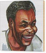 Jean Pierre Dikongue Pipa Wood Print