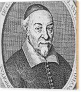 Jean Riolan, French Anatomist Wood Print