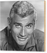 Jeff Chandler, Ca. Late 1950s Wood Print by Everett