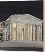 Jefferson Memorial Wood Print