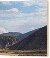 Jefferson River Wood Print