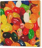 Jelly Belly - Painterly Wood Print