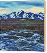 Jenny Creek Dawn Wood Print