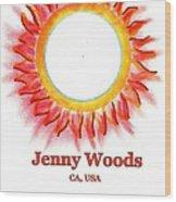 Jenny Woods Wood Print