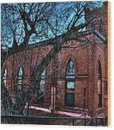 Jerome Church Wood Print