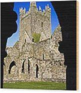 Jerpoint Abbey In Kilkenny Wood Print