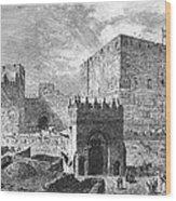Jerusalem: Citadel Wood Print