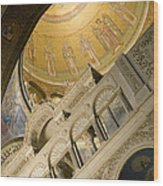 Jerusalem, Israel, Church Of The Holy Wood Print by Richard Nowitz