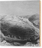 Jerusalem: Mount Zion Wood Print