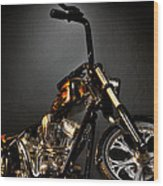 Jesse James Bike 2 Detroit Mi Wood Print