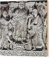 Jesus & Apostles Wood Print