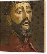 Jesus Christ San Xavier Del Bac Wood Print