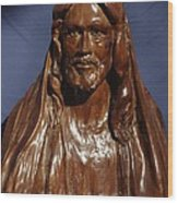 Jesus Of Nazareth Wood Print by Rick Ahlvers