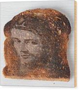 Jesus Toast Wood Print by Photo Researchers, Inc.