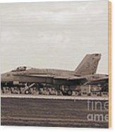 Jet Day At Oshkosh Airventure 2012. #01 Wood Print