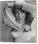 Jet Pilot, Janet Leigh, 1950, Released Wood Print by Everett