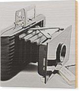 Jiffy Kodak Vp Camera Wood Print