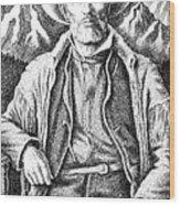 Jim Bridger Wood Print