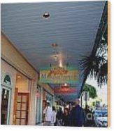 Jimmy Buffet's Margaritaville Key West Wood Print