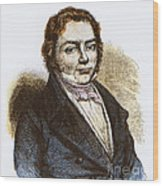 J�ns Jacob Berzelius, Father Of Swedish Wood Print