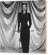 Joan Crawford, Ca. 1940s Wood Print by Everett
