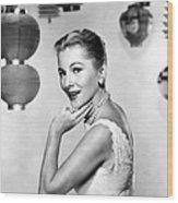 Joan Fontaine, Mgm, 1957 Wood Print