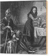 Joan Of Arc, French National Heroine Wood Print