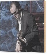 Joe Bonamassa Wood Print by Todd Sherlock
