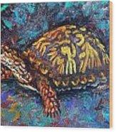 Joe Turtle Wood Print