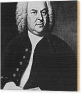 Johann Sebastian Bach 1685-1750, German Wood Print