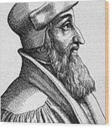 Johannes Oecolampadius Wood Print