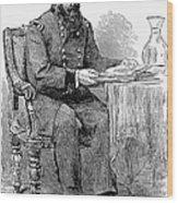 John A. Rawlins Wood Print