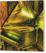 John Broadwood And Sons Grand Piano Wood Print