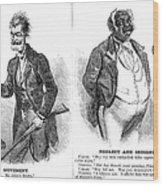 John Brown Cartoon, 1859 Wood Print by Granger