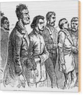 John Brown Trial, 1859 Wood Print