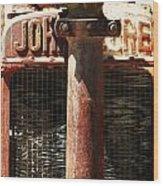 John Deere Radiator  Wood Print