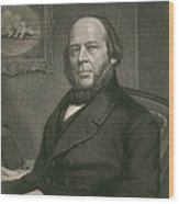 John Ericsson, Swedish-american Inventor Wood Print