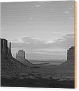 John Ford's Monument - Greeting Card Wood Print