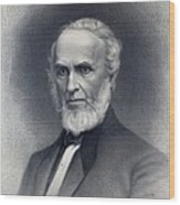 John Greenleaf Whittier 1807-1892 Wood Print