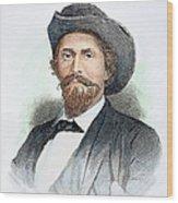 John H. Morgan (1825-1864) Wood Print